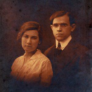 Poly and Aron Feb 28, 1916