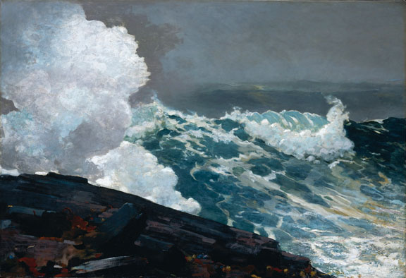 Northweaster by Winslow Homer 1895