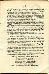 Polya's Train Ticket Paris to Alexandrowo 1913 p21