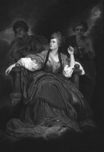 A Portrait of Mrs Siddons as the Tragic Muse by Joshua Reynolds