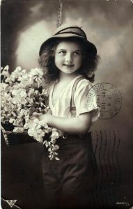 Postcard to Poline from Aron March 9, 1914 A