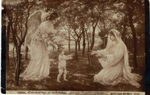 Postcard to Poline from Aron March 13, 1914 A