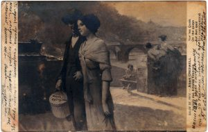 Postcard to Aron from Polya April 23, 1914 A