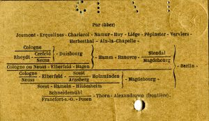 Train Ticket Route French and German p04